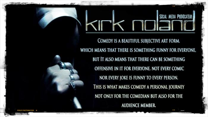 Comedy is a subjective artform