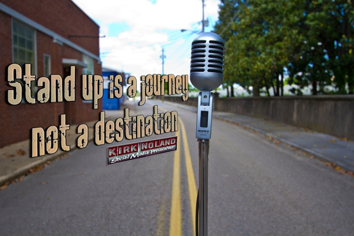 Stand up is Journey