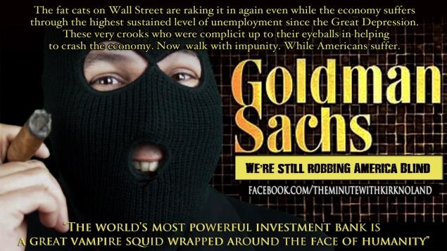 Goldman Sachs Sucks!