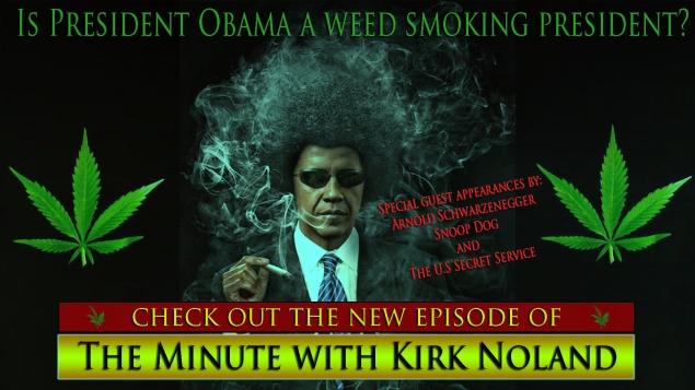 Obama weed smoker