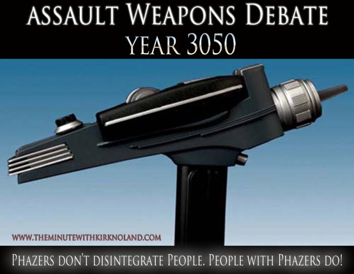 Assault Weapons Debate 3050