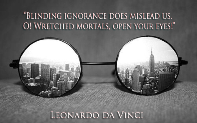 Blinding ignorance