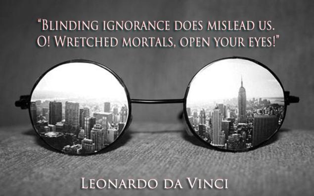 Blinding ignorance