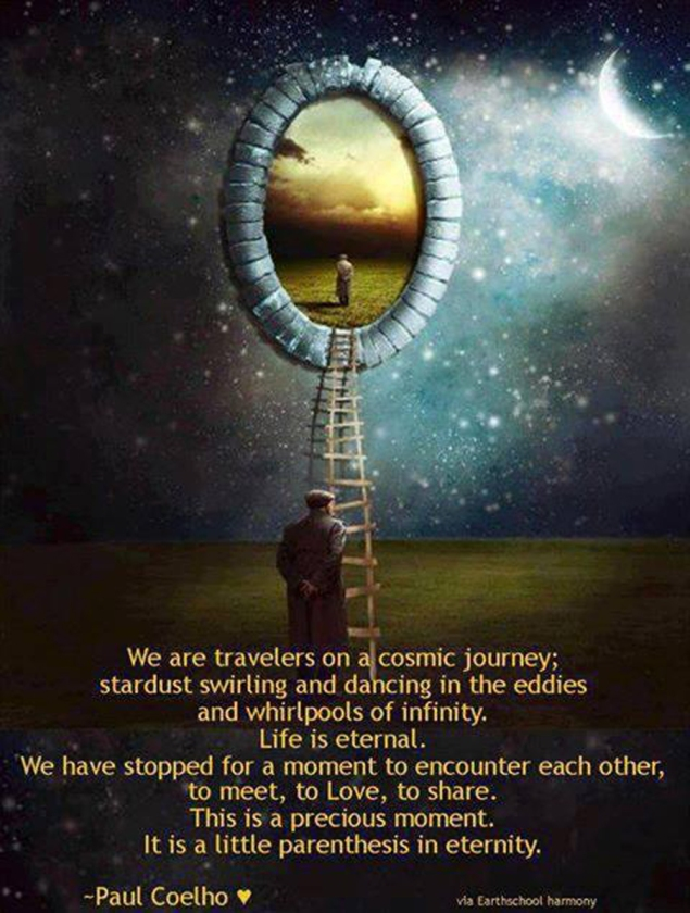 We are travelers