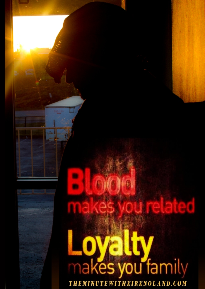 Blood make you related