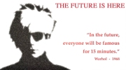 Andy Warhol's future is here, video,production