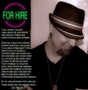 Producer-editor-comedy-comedian-hire-job-