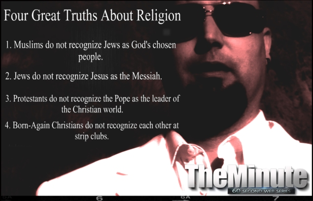 Four great truths about religion