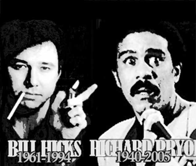 Richard,Pryor,Bill,Hicks,Kirk,Noland,stand,comedian,comedy