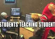 kirk, noland, creativelearningcenter, students,teaching